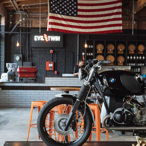 A Well-Behaved Biker Hangout in the Heart of DTLA