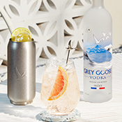 FLYING EAST WITH GREY GOOSE
