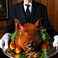 Pig Roast on Poste Patio