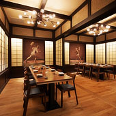 The Private Dining Room at Pabu