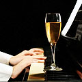 Brunch, Bubbly, a Piano and a Mic