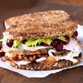 Turkey Sandwiches and Football at Bobo