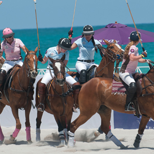 What a Victoria's Secret Model, the Beach and Polo Have in Common