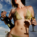 Champagne and Shiatsu at David Barton