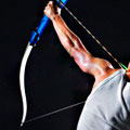 Bows, Arrows and a Former Olympian