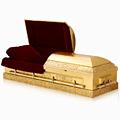 24K Gold Caskets