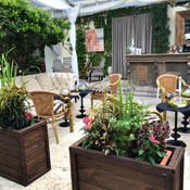 Nice Time of Year for a Garden Bar