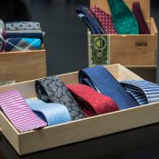 A Cognac-Adjacent Pop-Up Tie Shop
