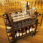 Hey, Travelle Has Bar Carts Now