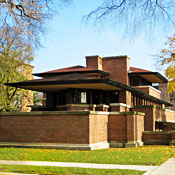 After-Partying in a Frank Lloyd Wright House