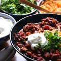 A Chili Feast for the Super Bowl
