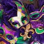 Here Goes. Mardi Gras at Town Hall.