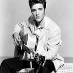 Honoring Elvis. With Burlesque.