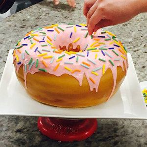 Someone Order a 10-Pound Donut?