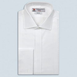 Turnbull & Asser Marcella Cotton Regent Collar Dress Shirt