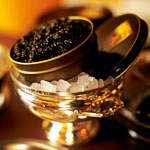 Russian Caviar for Lunch? Yes.