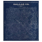 Map of Dallas County (1884)