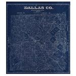 Map of Dallas County (1884)