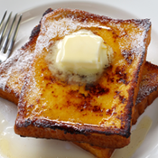Duck 'N' Vanilla Rum French Toast