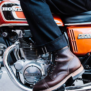 Boots. Bikes. Boots and Bikes.