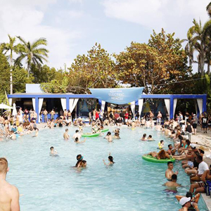 It's a Weird-ish Pool, Spa and DJ Thing at Shore Club