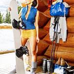 It's a Ski Sale. At a Bar.