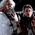 Marty McFly and Chinese on Christmas