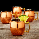 A Copper Mug to Hold Beverages