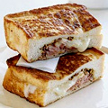 Ham and Cheese Stuffed French Toast