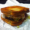 Behold: The Grilled Cheese Burger