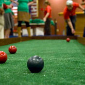 Bowling, Bocce and an Ad Hoc Vet Where You Least Expect Them