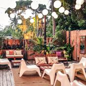 Phuc Yea Has a Garden Now. It Has Lanterns and Hip-Hop.