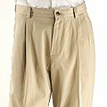 Haggar Pleated Khakis from Sears