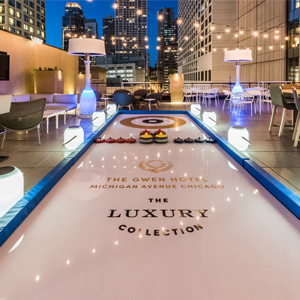 You Can Go Curling on the Gwen's Terrace Now