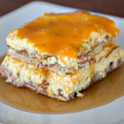 Your Next Hangover Stands No Chance Before Pancake Lasagna