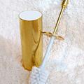 Gold Toilet Brush Holder