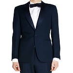A Full-On Smoking Tuxedo Suit