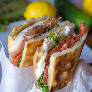 The French Market Welcomes Some Italian Sandwiches