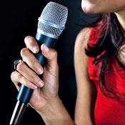 Comedians in Clubs Singing Karaoke