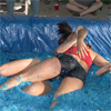 Amateur Female Jello Wrestling