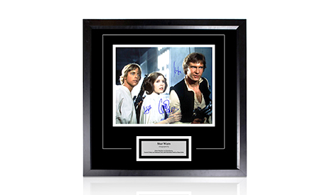 Signed <em>Star Wars</em> Memorabilia