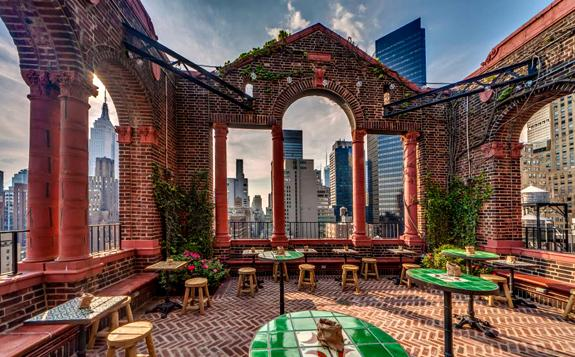 Best Pictures Of The Rooftop Lounge At Pod 39 In New York