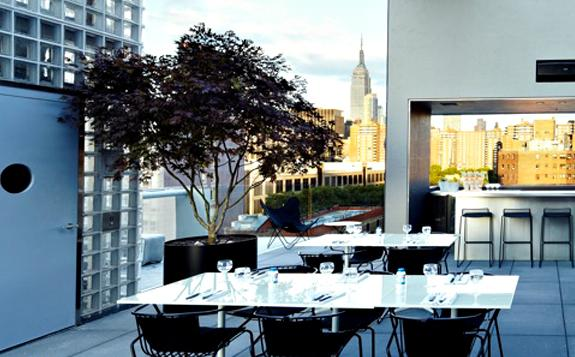 Urbandaddy slideshow h tel americano rooftop nyc for Hotel americano nyc